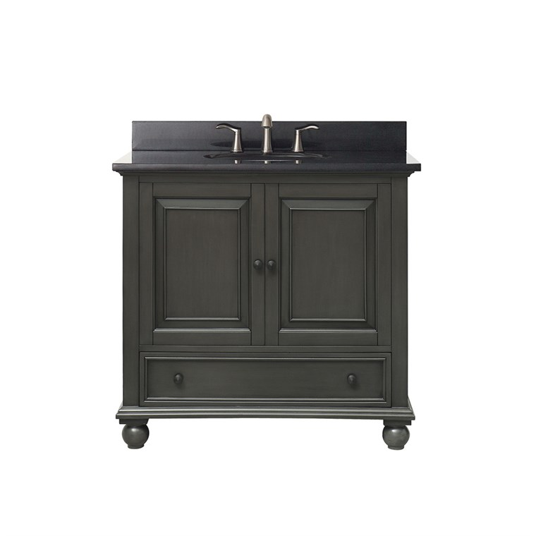 "Avanity Thompson 36"" Single Bathroom Vanity - Charcoal Glaze THOMPSON-36-CL"