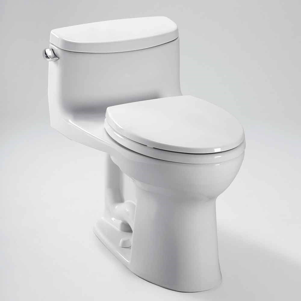 Toto Supreme Ii One Piece Elongated Toilet 1 28 Gpf Softclose Seat Included Free Shipping Modern Bathroom