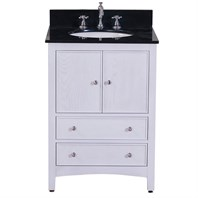 "Avanity Westwood 24"" Bathroom Vanity with Countertop - White Washed WESTWOOD-24-WW"