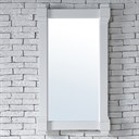 "James Martin Brittany 22"" Mirror - Cottage White 650-M22-CWH"