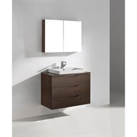 "Madeli Bolano 36"" Bathroom Vanity - Walnut B100-36-002-WA"