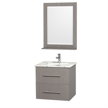 24 vanity with sink. centra 24\ 24 vanity with sink