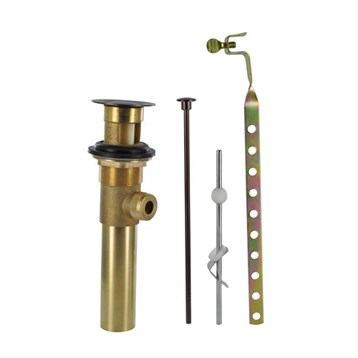 """Danze 1-1/4"""" Metal Pop-Up Drain Assembly with Lift, Tumbled Bronze D495002BR by Danze"""