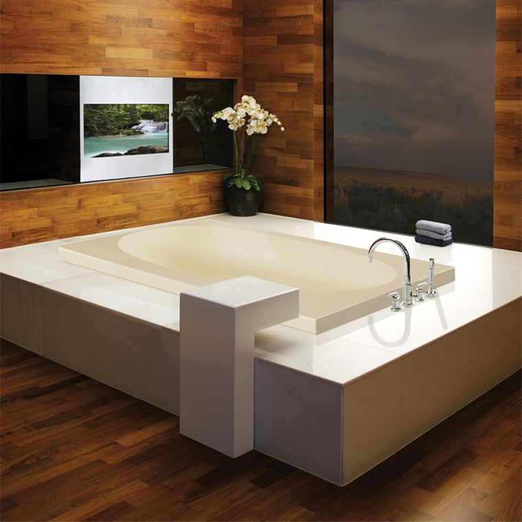 "MTI Akana Drop-In Bathtub (65.625"" x 37.875"" x 21.5"") MTCT-131A"
