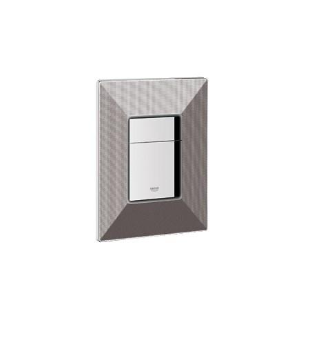 Grohe Skate Cosmopolitan, Dual Flush Wall Plate - Black Graphicsnohtin Sale $142.99 SKU: GRO 38859XG0 :