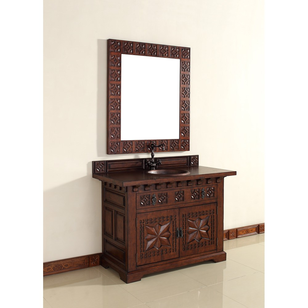 "James Martin 48"" Monterey Single Vanity - Antique Brandynohtin Sale $1540.00 SKU: 170-V48-ANB :"