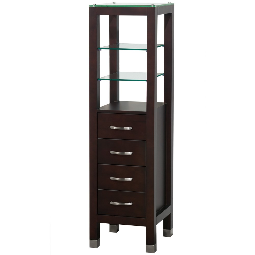 Tavello Wood Bathroom Cabinet - Espresso by Wyndham Collectionnohtin Sale $475.00 SKU: WC-K-W045-ESP :