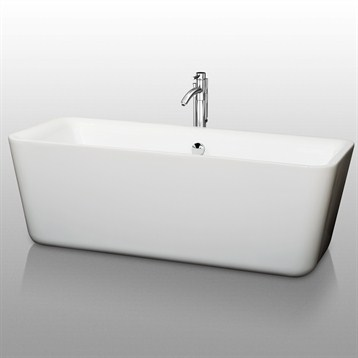 "Emily 69"" Soaking Bathtub by Wyndham Collection WC-BT1001-69 by Wyndham Collection®"