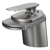 WC-F101 Single-Hole Bathroom Faucet - Brushed Nickel WC-F101-BN_