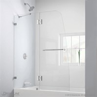 Bath Authority DreamLine Aqua Lux Clear Glass Tub Door