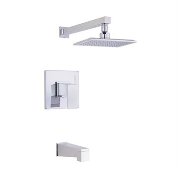 Danze Mid-Town Tub and Shower Trim Kit, Chrome D502062T by Danze