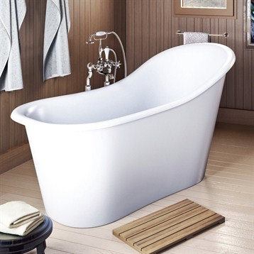 Americh International Emperor Freestanding Bathtub White 60 X 28 30 Free Shipping