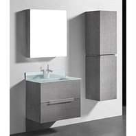 "Madeli Urban 30"" Bathroom Vanity for Integrated Basin - Ash Grey B300-30-002-AG"
