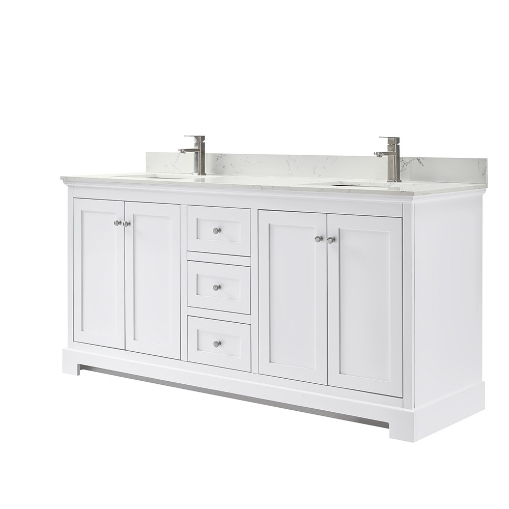 "Ryla 60"" Double Bathroom Vanity by Wyndham Collection - Dark Gray Copy WC-4040-60-DBL-VAN-DKG"