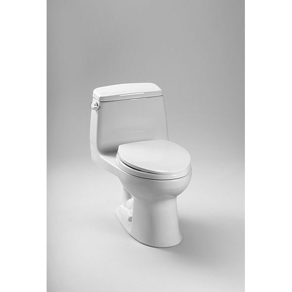 TOTO® Eco Ultramax® High Efficiency One-Piece ADA Toilet w/ Sanagloss - Cotton White