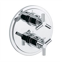 Grohe Atrio Integrated Thermostat Trim - Starlight Chrome