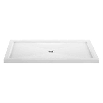 "MTI MTSB-6032MTCD Multi-Threshold Shower Base, Center Drain, 60"" x 32"" MTSB-6032MTCD by MTI"