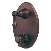 Danze® Fairmont™ Two Handle Thermostatic Shower Trim Kit - Oil Rubbed Bronze