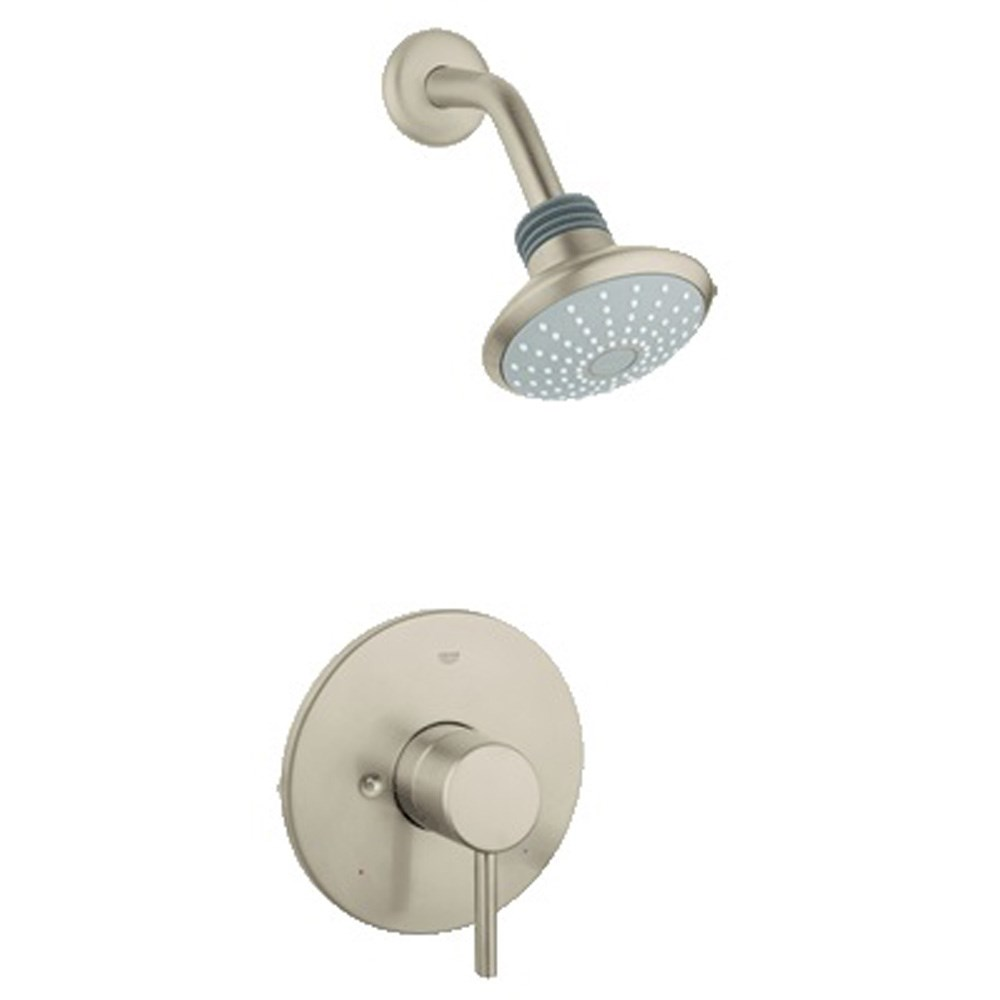 Grohe Concetto Pressure Balance Valve Shower Combination - Brushed Nickel Infinitynohtin Sale $224.99 SKU: GRO 35010EN1 :