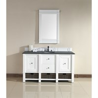 "James Martin 60"" Madison Single Vanity - Cottage White 800-V60S-CWH"