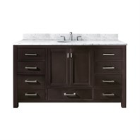 "Avanity Modero 60"" Single Bathroom Vanity - Espresso MODERO-60-ES-A"