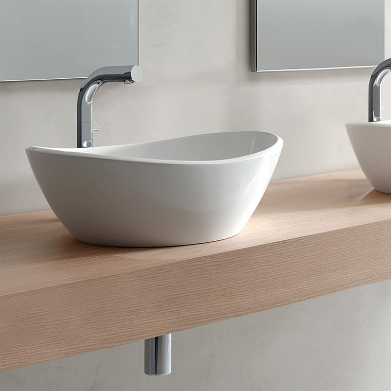 Amalfi 55 Vessel Sink by Victoria and Albert VB-AML-55-NO (CS718)