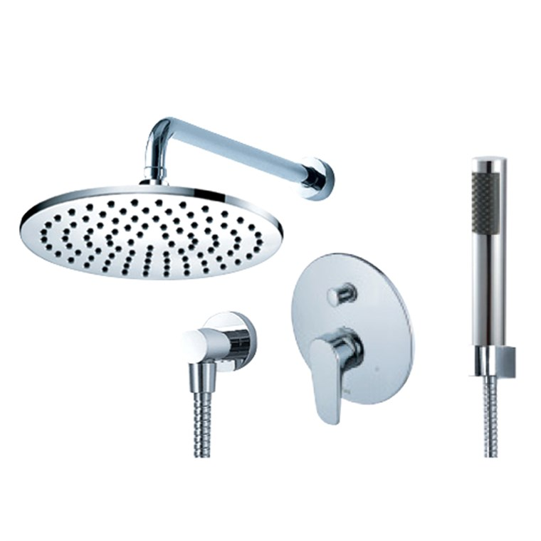 fluid Utopia Pressure Balancing Shower Set w/ Handheld Trim Package F1841-T