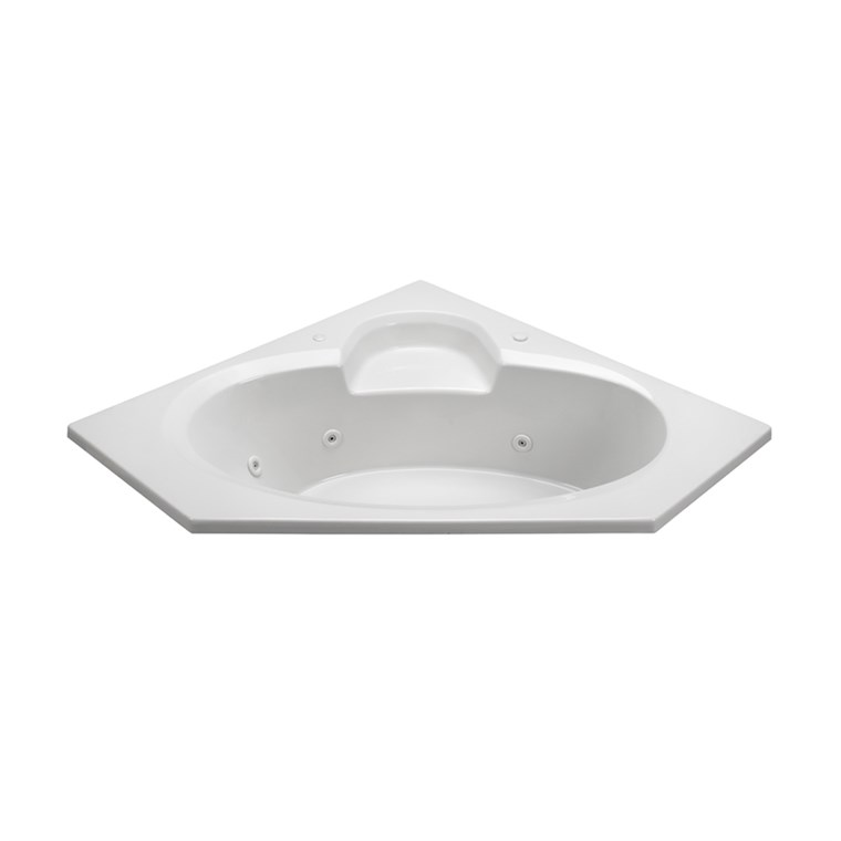 "MTI Basics Bathtub (59"" x 59"" x 18.75"") MBSC6060"