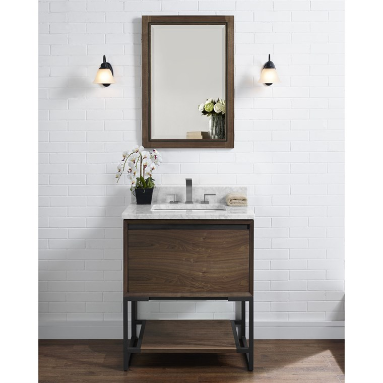 "Fairmont Designs M4 30"" Vanity - Natural Walnut 1505-V30"