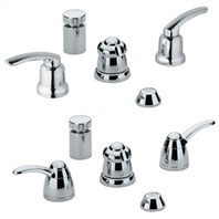 Grohe Talia Wideset Bidet - Starlight Chrome