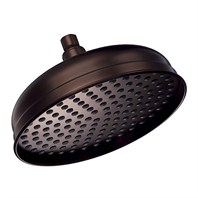 "Danze® 10"" Antique Bell Showerhead - Oil Rubbed Bronze"