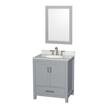 Sheffield 30 single bathroom vanity by wyndham collection for A c bathrooms sheffield