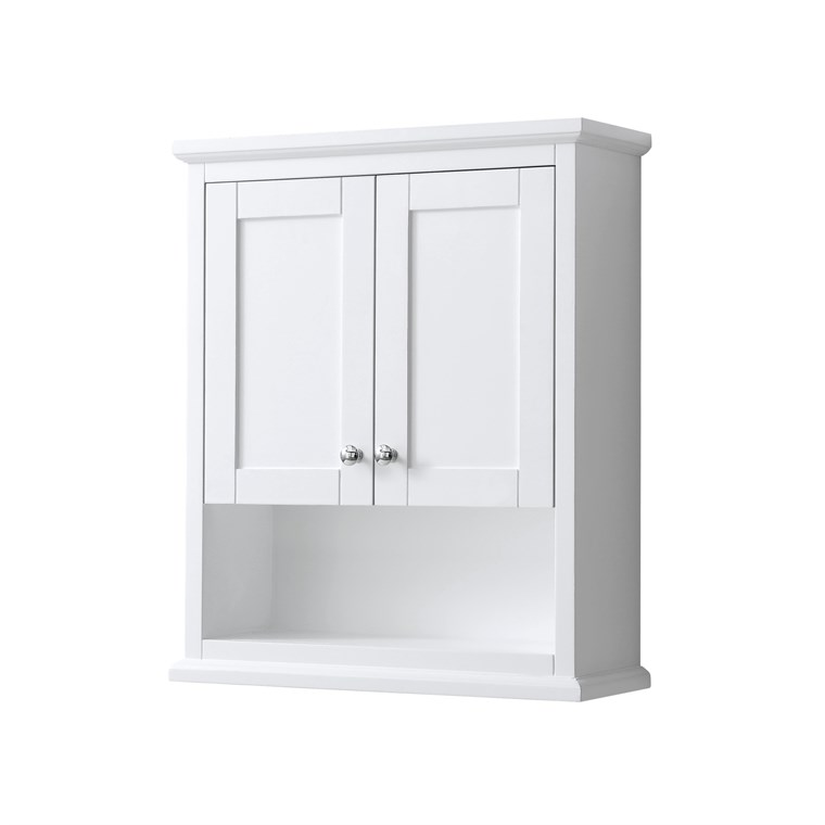 Wyndham Collection Avery Over-Toilet Wall Cabinet