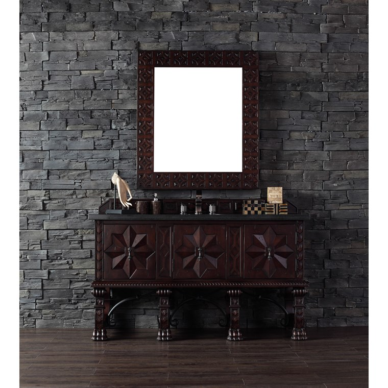 "James Martin 60"" Balmoral Single Vanity - Antique Walnut 150-V60S-ANW"