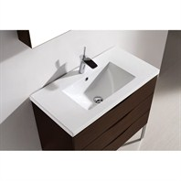 "Madeli Milano 36"" Bathroom Vanity - Walnut B200-36-002-WA"