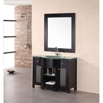 "Design Element Designer's Pick 43"" Bathroom Vanity, Espresso DEC010 by Design Element"