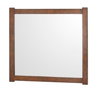 "Colby Bathroom Mirror - Burl (40"" x 38"") H11000-40-BURL"