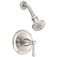 Danze Eastham Trim Only Single Handle Pressure Balance Shower Faucet - Brushed Nickel D500515BNT