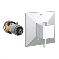 Grohe GrohFlex Allure Brilliant Dual Function Pressure Balance Trim with Control Module - Starlight Chrome GRO 19786000