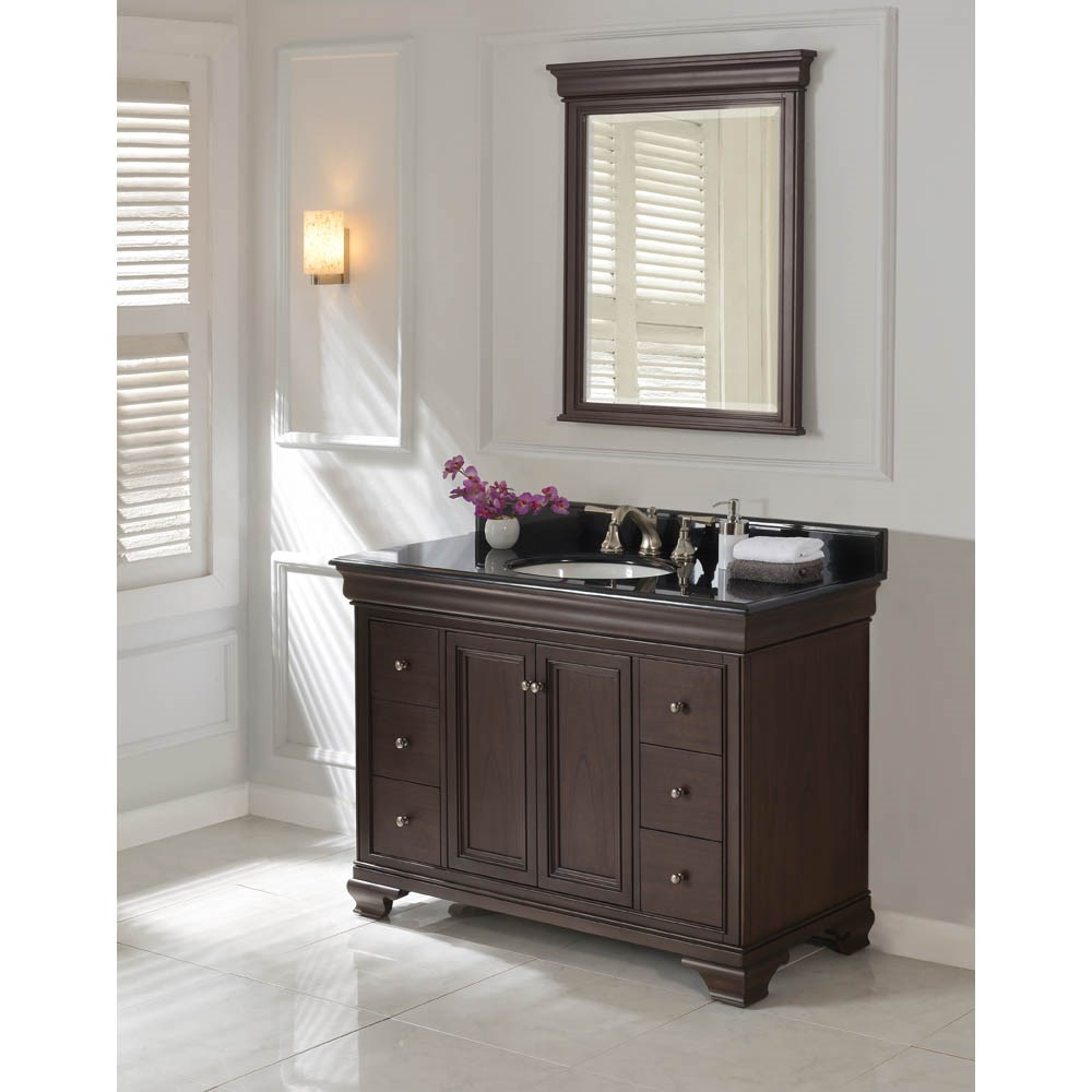 "Fairmont Designs Providence 48"" Vanity - Aged Chocolate 1529-V48"