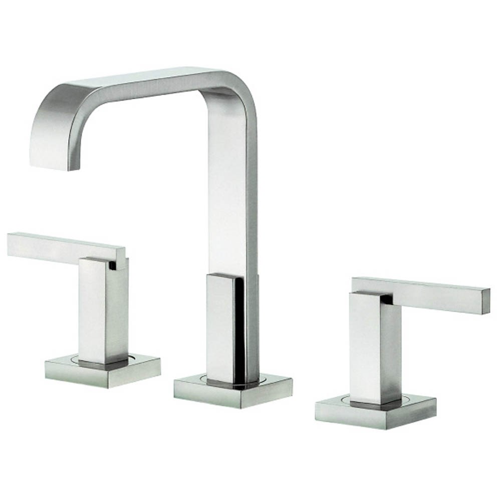 Danze Sirius Trim Line 2H Mini-Widespread Lavatory Faucet w/ Metal Touch Down Drain 1.2gpm - Brushed Nickel D304644BN