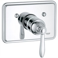 Grohe Somerset Thermostat Trim - Starlight Chrome