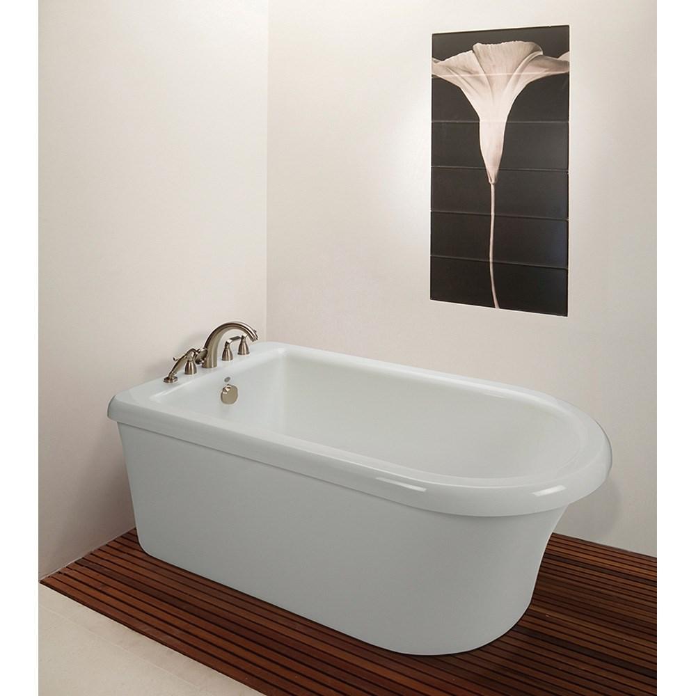 "MTI Basics Freestanding Bathtub (66"" x 36"" x 22"")nohtin Sale $2180.00 SKU: MBXFSX6636 :"