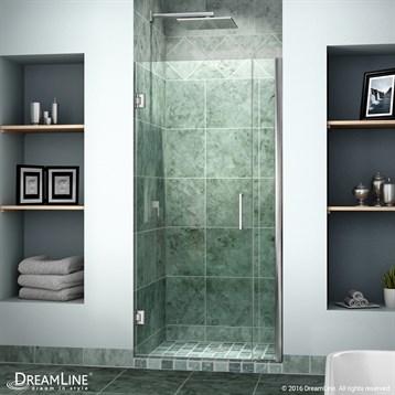 """Bath Authority DreamLine Unidoor Shower Door w/ 6"""" Panel by Bath Authority DreamLine"""
