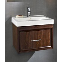 "Fairmont Designs Seascape 21"" Wall Mount Vanity & Sink Set - Whiskey 152-WV21"