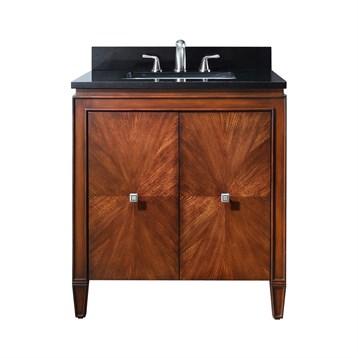 """Avanity Brentwood 31"""" Bathroom Vanity, New Walnut BRENTWOOD-31-NW by Avanity"""