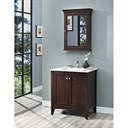 "Fairmont Designs Shaker Americana 30"" Vanity for Integrated Top - Habana Cherry 1513-V30-"
