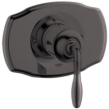 Grohe Seabury Pressure Balance Valve Trim with Lever Handle - Oil Rubbed Bronze