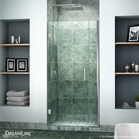 "Bath Authority DreamLine Unidoor Shower Door w/ 6"" Panel"