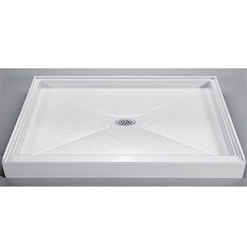 "MTI MTSB-4236 Shower Base, 42"" x 36"" by MTI"